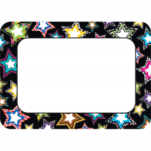 Fancy Stars Name Tags / Labels