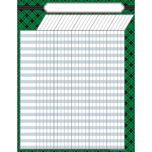 [TCR chart] Green Plaid Ince..