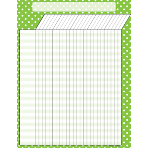 [TCR chart] Lime Polka Dots ..