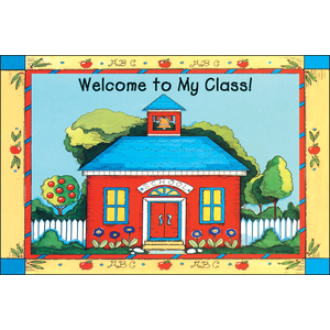 Schoolhouse Welcome Postcards
