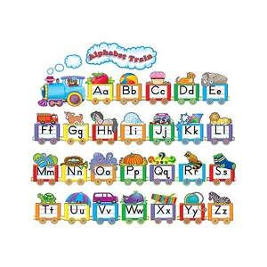 Alphabet Train Bulletin Board
