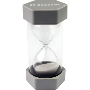 30 Second Sand Timer - Large