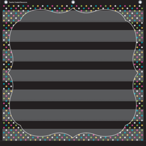 Chalkboard Brights 7 Pocket ..