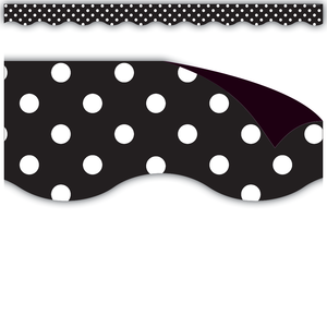 Black Polka Dots Magnetic Bo..