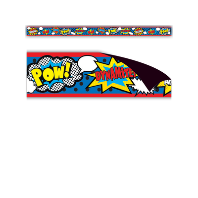 Superhero Magnetic Strips
