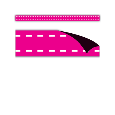 Hot Pink Stitch Magnetic Strips
