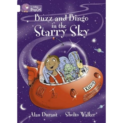 Big Cat 10 White: Buzz and Bingo In The Starry Sky
