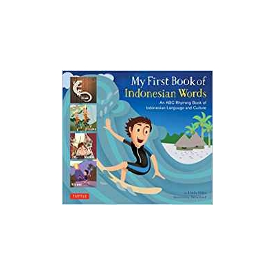 My First Book Indonesian Words HC - Bekerley Children Book