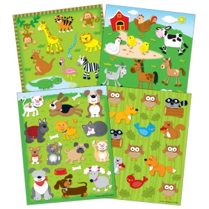 Animals Value Pack Stickers