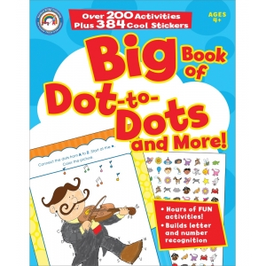 Big Bk Of Dot - To - Dots
