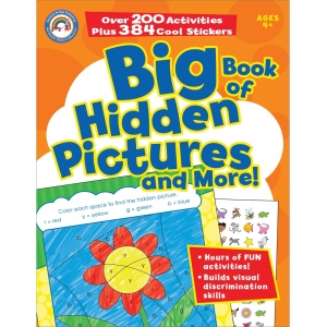 Big Bk Of Hidden Pictures & ..