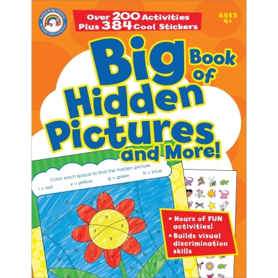 Big Bk Of Hidden Pictures & More