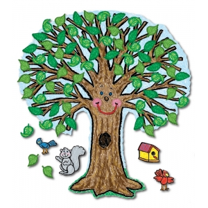 Big Tree: Kid-Drawn Bulletin..