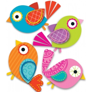 Boho Birds Mini Cut-Outs