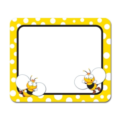 Buzz - Worthy Bees Name Tags