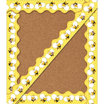 Buzz - Worthy Bees Scalloped Borders