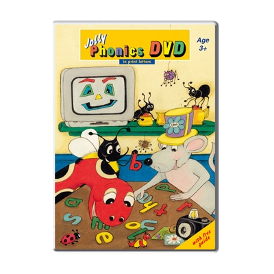 Jolly Phonics DVD - Print