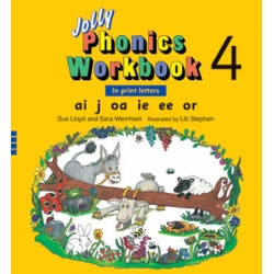 Jolly Phonics Workbook 4 - Print
