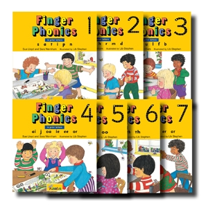Finger Phonics Set Book..