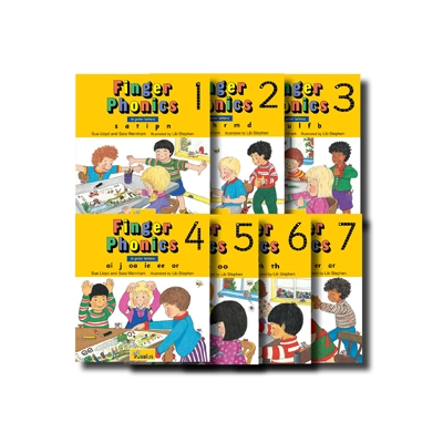 Finger Phonics Set Book 1-7 - Print