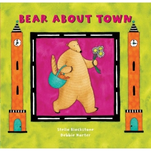 Bear about Town Board Book |..