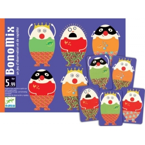 Djeco BonoMix Eggs Card Game