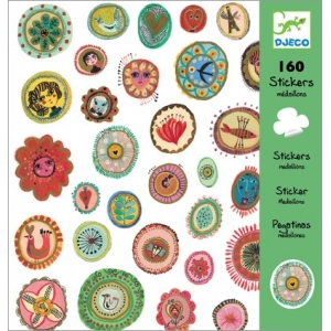 Djeco Medallion Stickers
