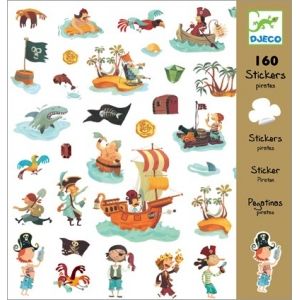 Djeco Pirates Stickers