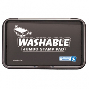 JUMBO WASHABLE STAMP PAD BLACK