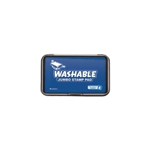 JUMBO WASHABLE STAMP PAD BLUE