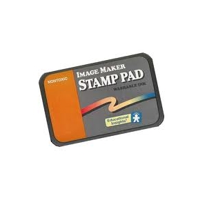 WASHABLE ORANGE STAMP PAD