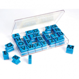 UPPERCASE ALPHABET RUBBER ST..