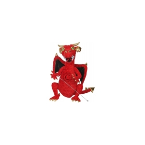 ENCHANTED PUPPETS: DRAGON_RED