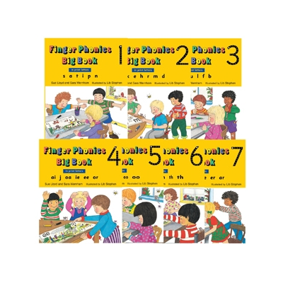 Finger Phonics Big Book 1-7 - Print