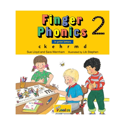 Finger Phonics Book 2 - Print