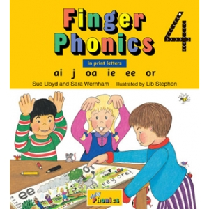 Finger Phonics Book 4 -..