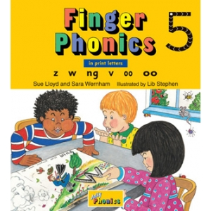 Finger Phonics Book 5 -..