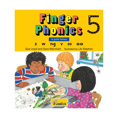 Finger Phonics Book 5 - Print