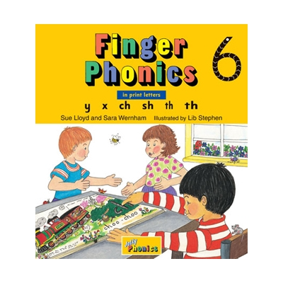 Finger Phonics Book 6 - Print