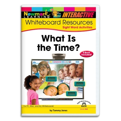WHAT IS THE TIME INTERACTIVE WHITEBOARD CD-ROM