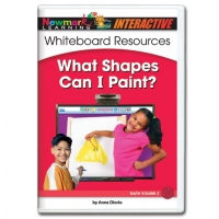 WHAT SHAPES CAN I PAINT INTERACTIVE WHITEBOARD C..