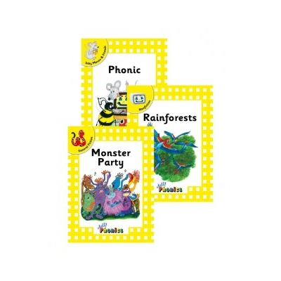 Jolly Readers Level 2 Yellow Complete Set - Print