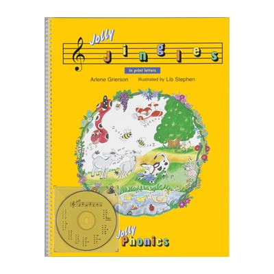 Jolly Jingles Big Book with CD - Print