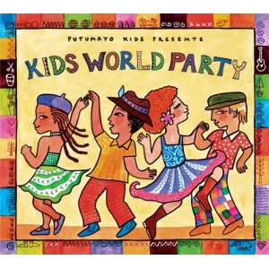 Kids World Party Audio CD