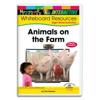 SIGHT WORDS READERS SCIENCE WHITEBOARD: ANIMALS ..