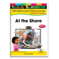 SIGHT WORDS READERS SCIENCE WHITEBOARD: AT THE S..