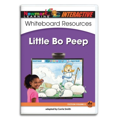 RISING LEVELLED READERS NURSERY RHYME/SONG FICTION WHITEBOARD GRADES PREK–K: LITTLE BO PEEP