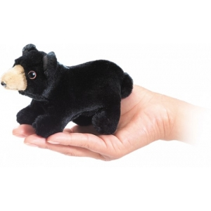 Finger Puppet: Mini Black Bear