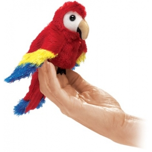Finger Puppet: Mini Macaw