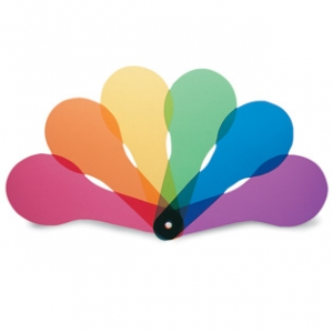 COLOR PADDLES - SET OF 18